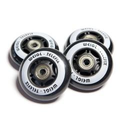 Racer Wheels (Ersatzräder) Schwarz